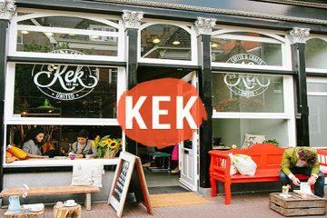 Kek Coffee & Crafts: Delftse koffiebar met eigen flavour