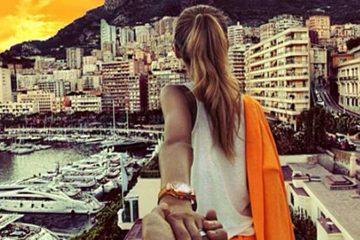 date-een-meisje-die-reist