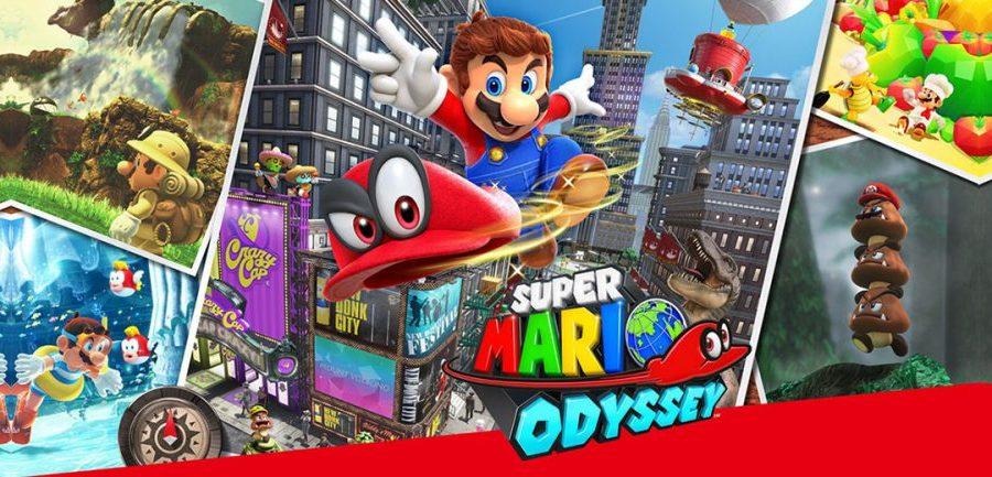 Switch naar Super Mario Odyssey