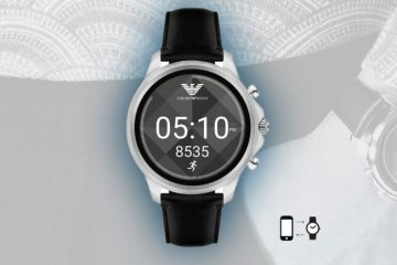 Stay connected met de Armani Smartwatch