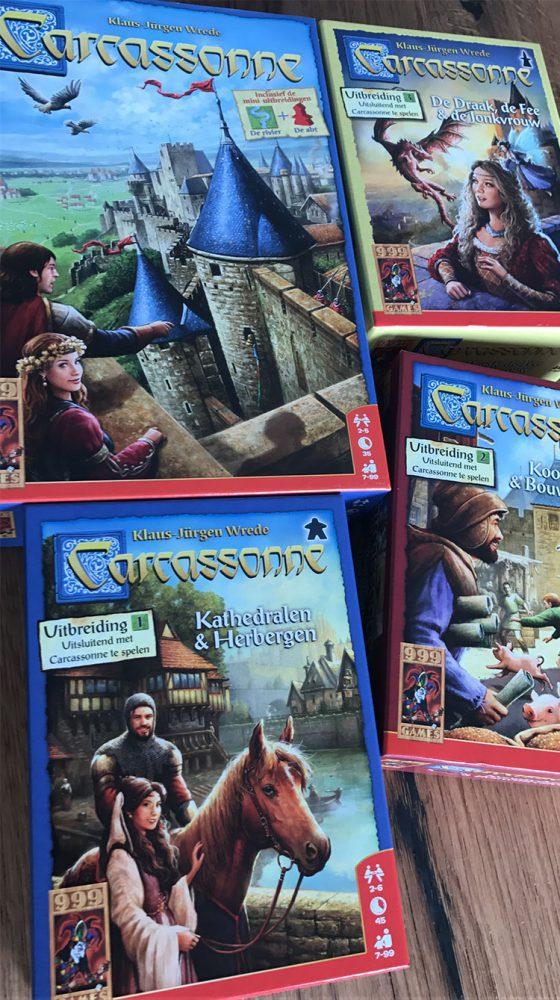 carcassonne uitbreidingen