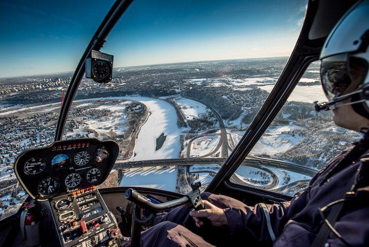 canada vanuit de lucht