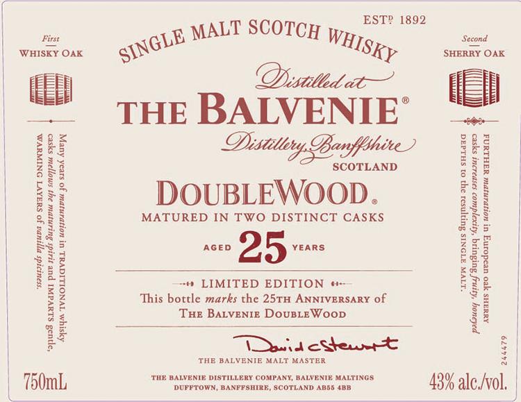Balvenie DoubleWood 25 logo