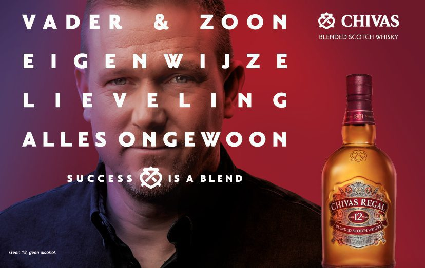 Success is a blend, Chivas Regal en Johnny de Mol